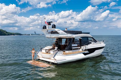 galeon yacht 2017 galeon 500 fly power boat for sale www yachtworld