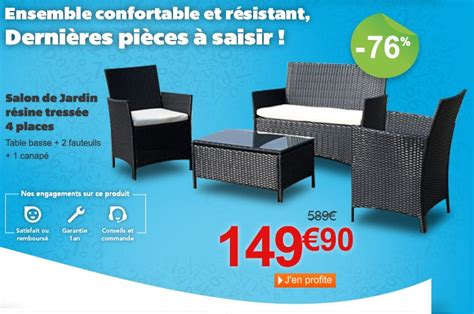 Salon De Jardin Promo 1629 by Salon De Jardin Promotion