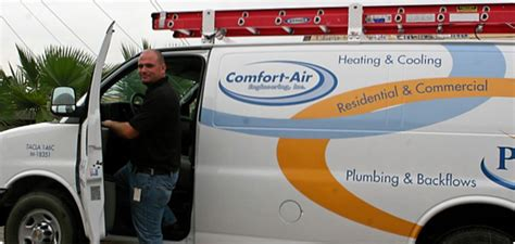 comfort air engineering air conditioning san antonio ac service company