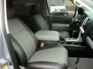 Seat Covers For Trucks Toyota Tundra Clazzio Covers 05 10 Toyota Tundra Leather Seat Covers