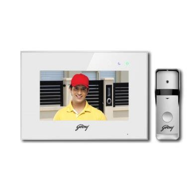godrej 7 quot inch home security wifi door phone see