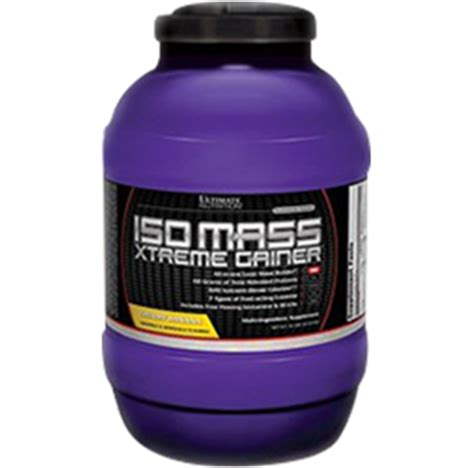 Sale Iso Mass Xtreme Gainer 3 5 Lbs Ultimate Nutrition ultimate nutrition iso mass xtreme gainer mrsupplement au