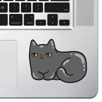 Sticker Decal Apple Mini Air Four Tails Rina Shop best grumpy cat sticker products on wanelo