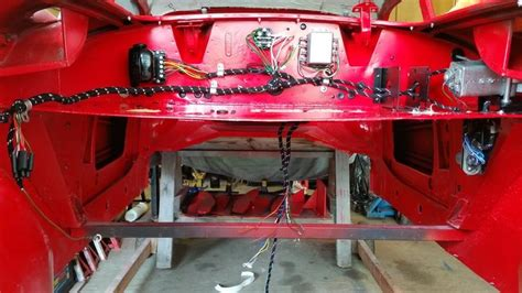 routing  engine bay fuel hydraulic electric