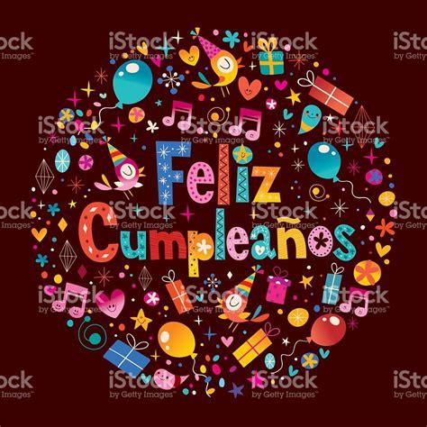 happy birthday in spanish imagenes feliz cumpleanosbuon compleanno in spagnolo biglietto