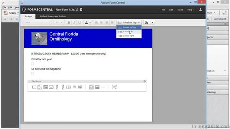 adobe acrobat form templates adobe acrobat xi creating forms tutorial creating