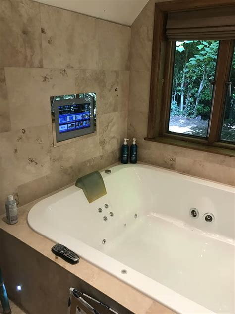 can you put a tv in the bathroom how to install a tv in the bathroom 28 images luxury bathroom electrical