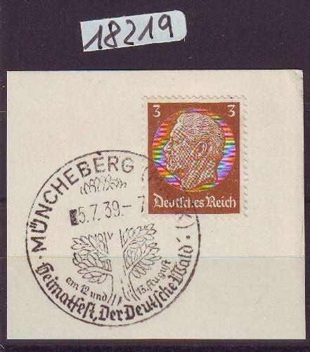 Baum Pflanzen Kaufen 1937 by Motivbelege Wald Holz M 246 Bel Sonderstempel