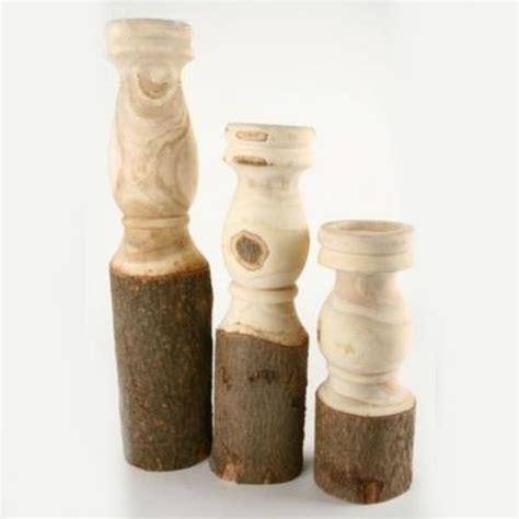 holz kerzenhalter holz kerzenhalter gedrechselt natur holz h 45cm