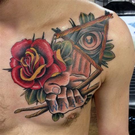 rose tattoo drummer 70 drum tattoos for musical instrument design ideas