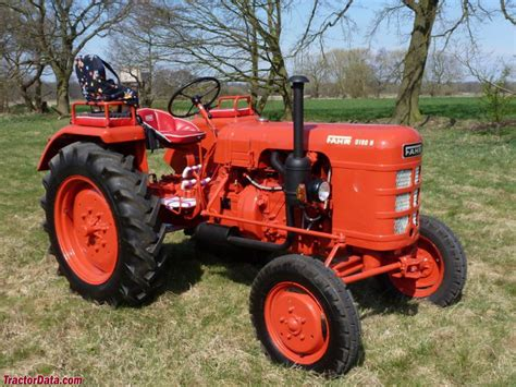 tractordatacom fahr dh tractor  information