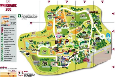 Zoologischer Garten Karlsruhe Restaurant by Map Of Park Picture Of Zsl Whipsnade Zoo Dunstable