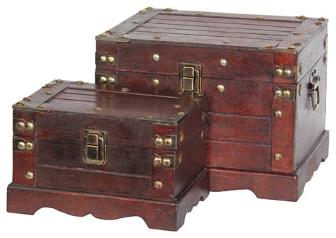 small chests and cabinets old style small wooden chest set of two rustic accent