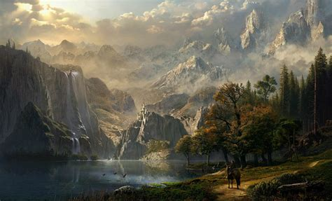 skyrim landscape skyrim landscape wallpaper hd sdeerwallpaper gaming