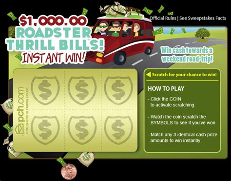 Instant Money Win - win instant cash with pch scratch cards at the new pch com pch blog