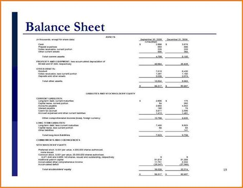 balance sheet template simple balance sheet template authorization letter pdf