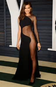 Vanity Fair Irina Shayk Irina Shayk Bares It All In A Versace Dress At The