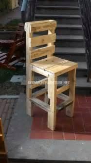 chaise faite avec des palettesmeuble en palette meuble