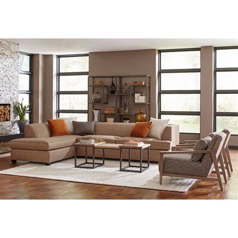 broyhill sofa with chaise broyhill furniture farida 2 sectional sofa with laf
