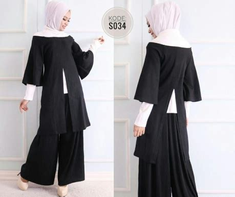 Sale 40ribu All Item Piyama Adem N Kaos Bkk black n white set s034 baju style ootd