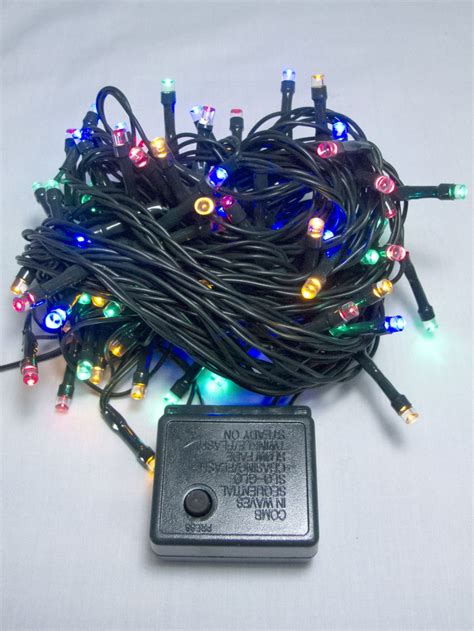 super bright christmas lights 80 multi colour super bright led string light 8m