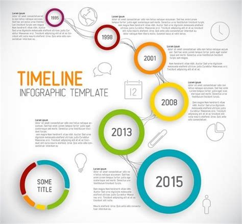 free creative business timeline infographic template