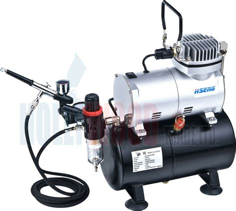 mini airbrush compressor with tank as186 kit 1 ebay