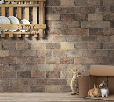 Kitchen Design Kansas City chicago porcelain brick tile by mediterranea usa