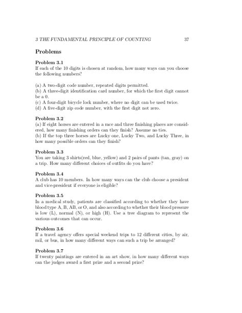 The Fundamental Counting Principle Worksheet by Fundamental Counting Principle Worksheet Photos Getadating