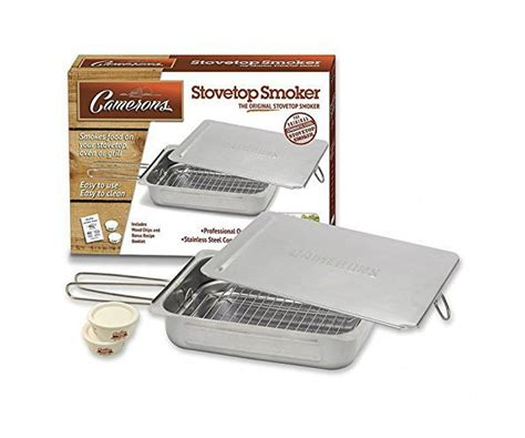 Camarons Grillés by Camerons Stovetop Smoker Barbecuebible