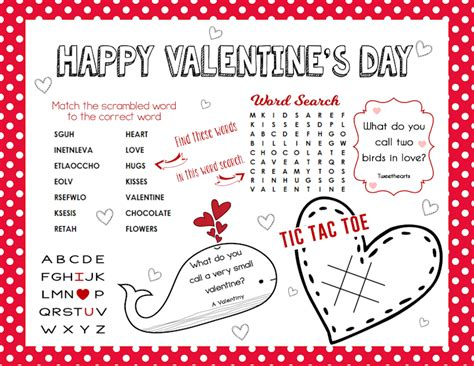 activities for valentines day free printable s day activity sheet the