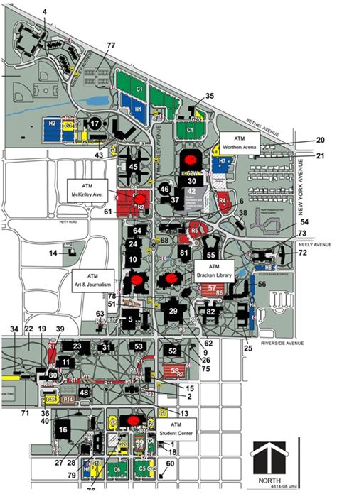 Arena Floor Plan by Atms Ball State University