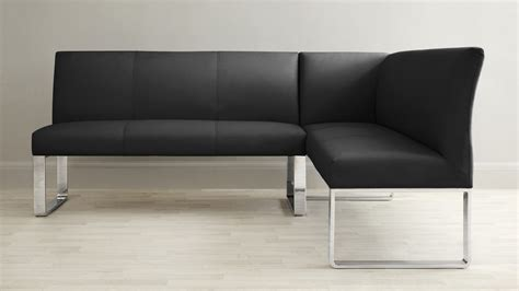 leather corner bench 5 seater left hand corner bench leather and chrome uk