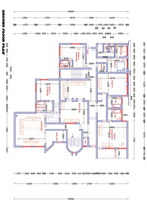 convert  sketch  architectural drawing  autocad