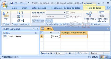 conectar base de datos de access accdb con excel curso gratis microsoft access 2007 unidad 2 crear abrir