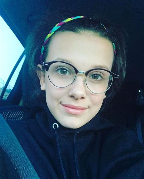 Happy Glasses Brown 399 best millie bobby brown images on bobby
