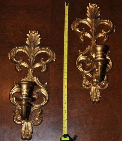 Gold Wall Sconce Candle Holder Gold Wall Sconce Candle Holders