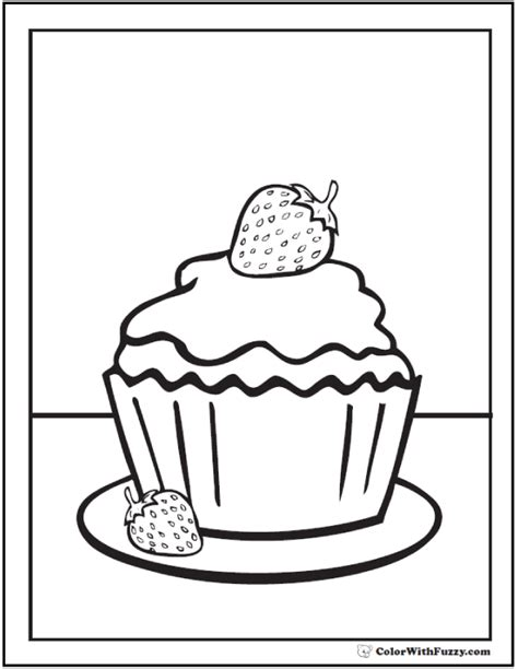 big cupcake coloring page big cupcake coloring pages coloring pages