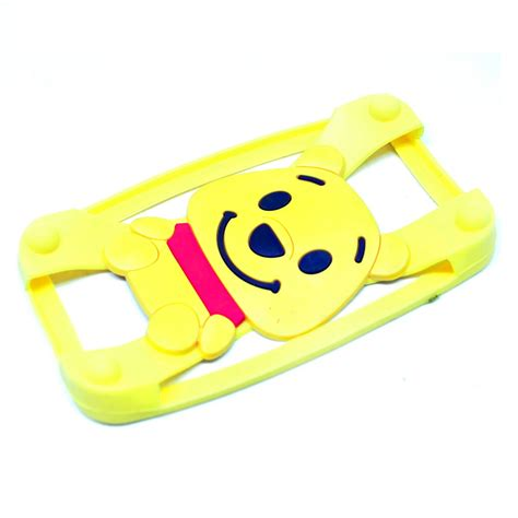 Ring Silikon Bumper Silikon Ring winnie the pooh bumper ring silicone for smartphone 4 5 5 inch yellow