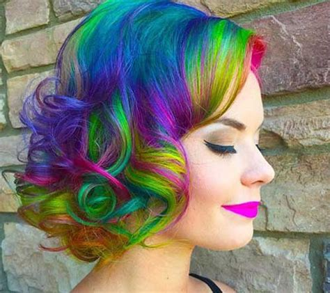 colorful short hair styles short hair color ideas you must see short hairstyles