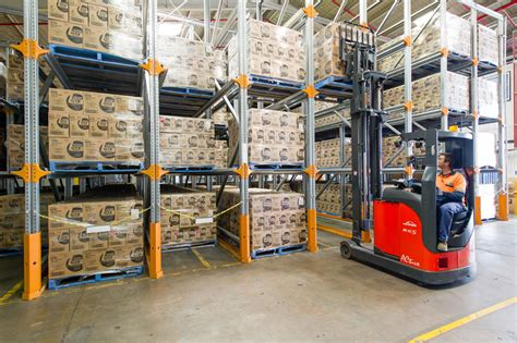 Drive In Drive Through Racking System by Drive In Pallet Racking Melbourne Best Drive Thru Rack
