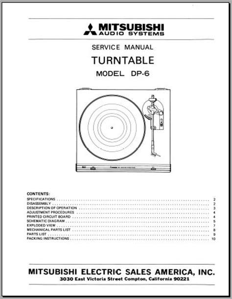 format factory manual mitsubishi dp 6 service manual analog alley manuals