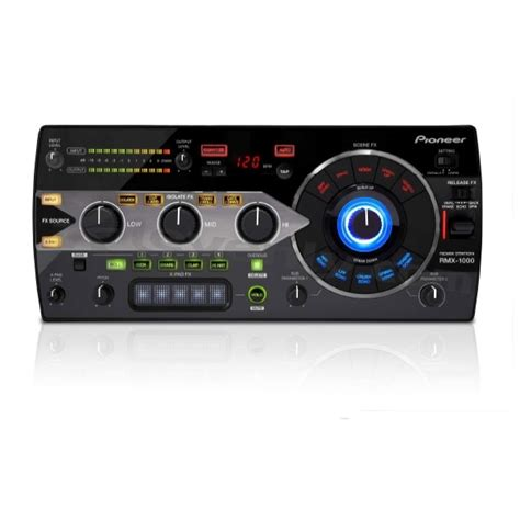 console pionner pioneer rmx 1000 console de remix professionnelle 224 effets