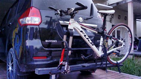 Rak Sepeda Atas Mobil rak sepeda mobil yang mudah murah dan aman pada bumper
