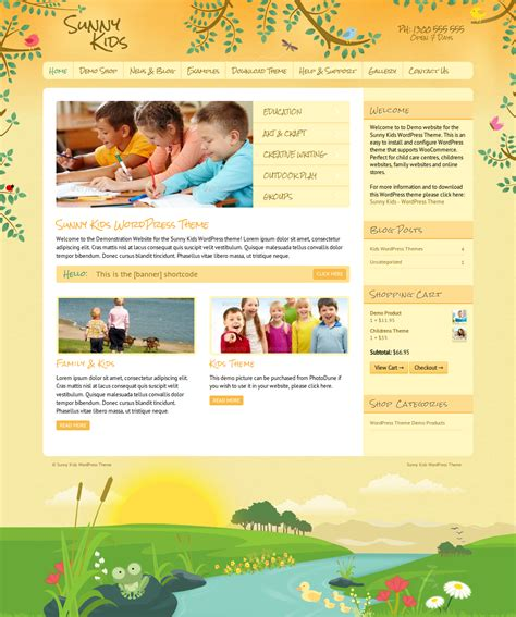 website templates for children s books dtbaker