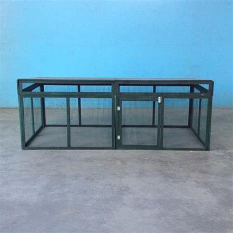 animali da gabbia gabbia in legno per animali domestici e cortile modello g22