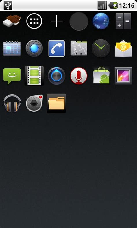 new themes of android ice cream sandwich on your android phone via new theme
