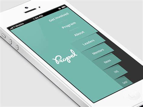 design menu application 30 brilliant mobile navigation menu design concepts web