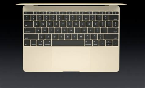 Keyboard Laptop Macbook apple s radical 12 inch macbook is the slimmest lightest macbook macworld