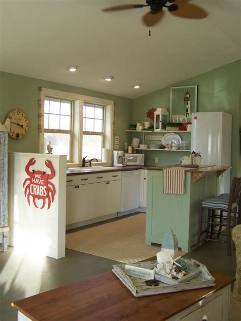 Coastal Nest A Charming Beach Cottage Remodel Hooked On Coastal Cottage Kitchen